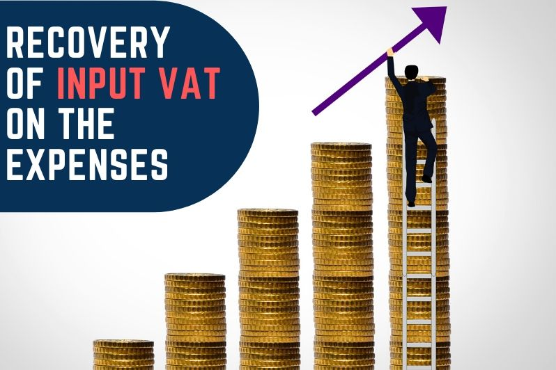 Recovery of input VAT on the expenses