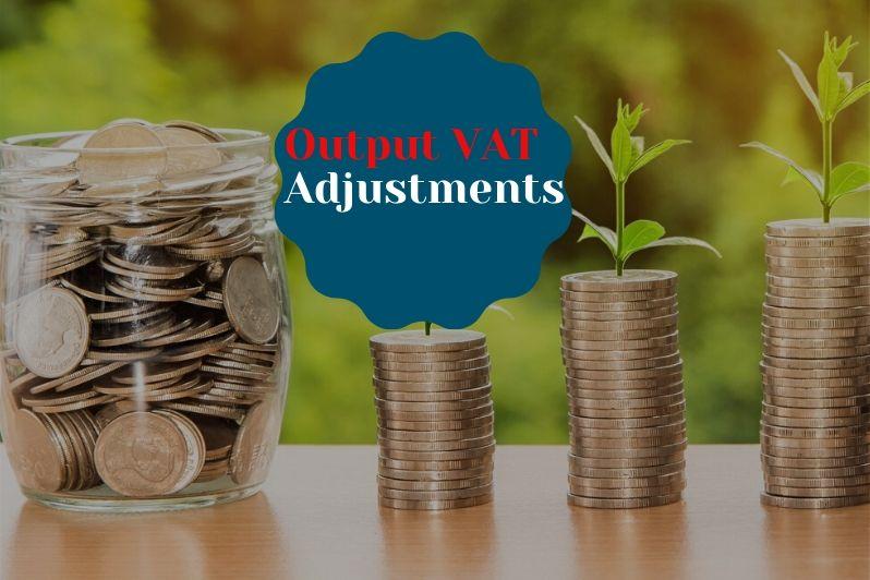 Output VAT Adjustments
