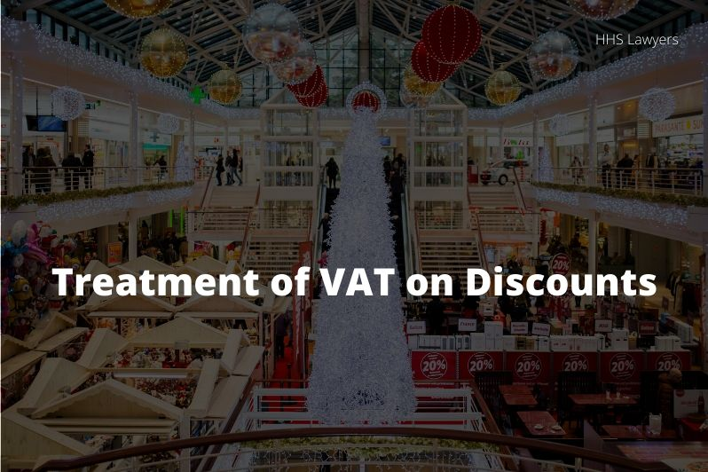 VAT on discounts
