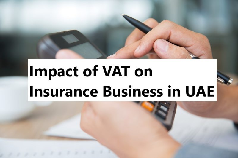 vat on insurance uae