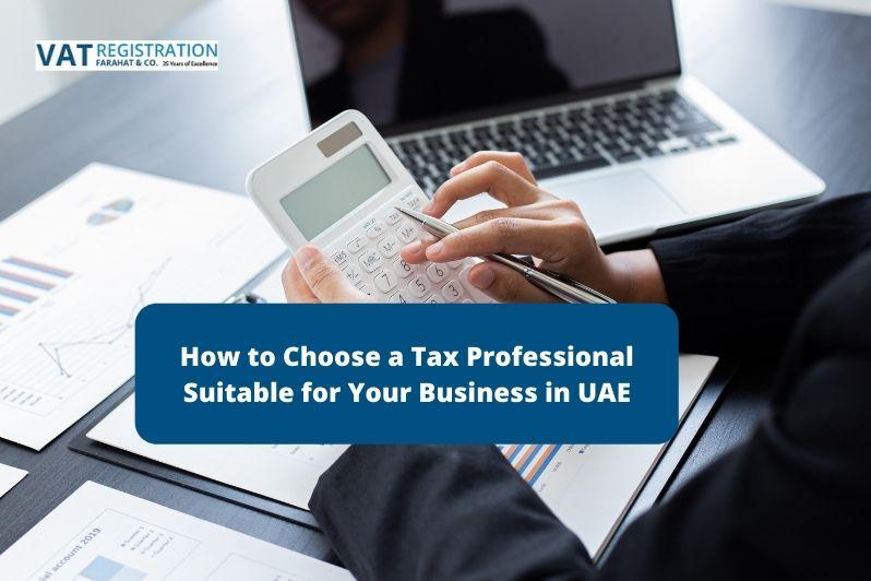 Tax Professional in UAE