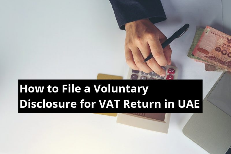 FTA voluntary disclosure vat