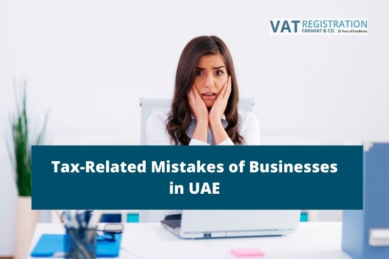 Tax-Related Mistakes